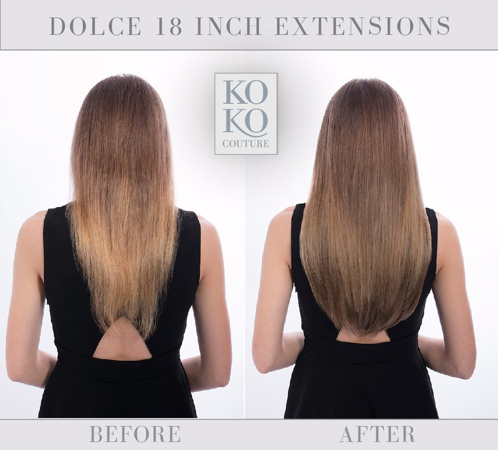 KOKO Couture can help you colour match your hair extensions