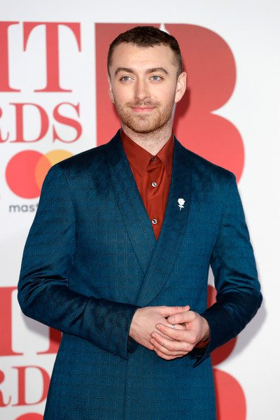 Brit awards 2018 best dressed - Sam Smith